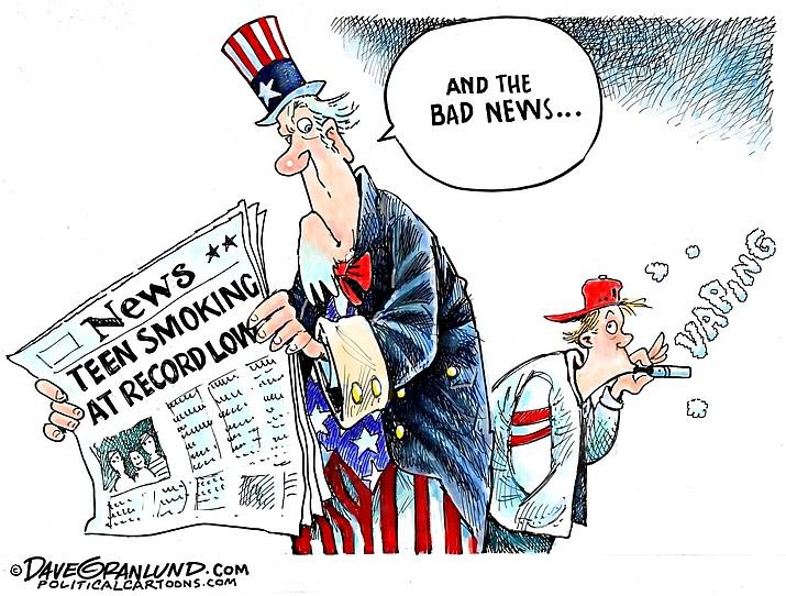 Editorial cartoon (1): Oct. 1, 2019