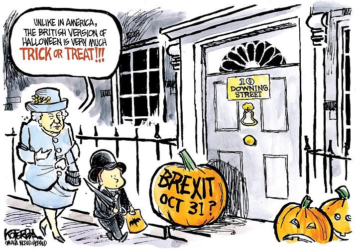 Editorial cartoon (2): Oct. 1, 2019