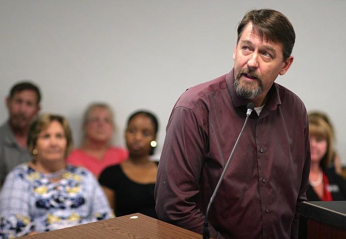 Dan Cherry, Yavapai County Public Works Director.  VVN/Bill Helm
