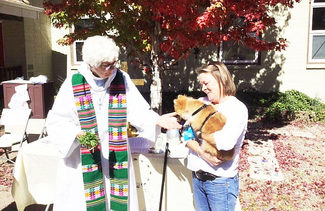 Animals can receive blessings Oct. 6 during the third annual Blessing of the Animals at St. John's Episcopal-Lutheran Church in Williams. (Submitted photo)