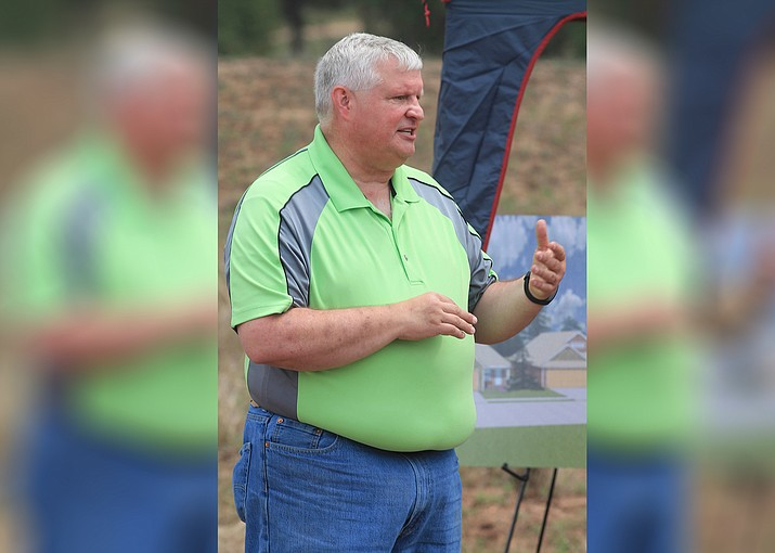 Eric Duthie began in 2015 as interim town manager of Tusayan. His contract was terminated Sept. 19. (Loretta Yerian/WGCN)