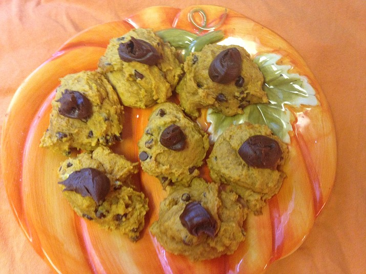Pumpkin chocolate chip cookies. (Courtesy)