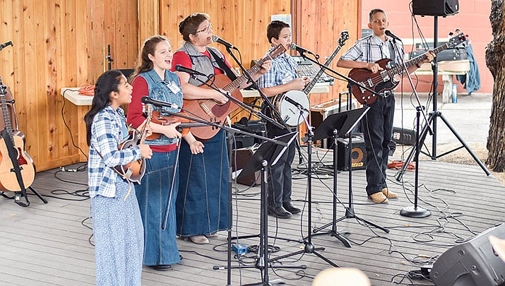 Come enjoy two days of fabulous folk music at the 41st Annual Folk Music Fest at the Sharlot Hall Museum, 415 W. Gurley St. in Prescott from 10 a.m. to 4 p.m. on Saturday and Sunday, Oct. 5-6. (Sharlot Hall Museum, Facebook)