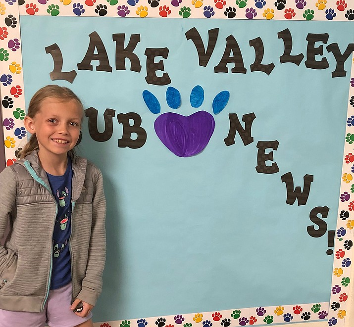 Ava is the HUSD Student of the Week. (Courtesy)