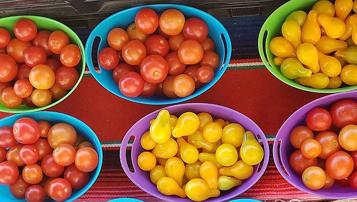 The Prescott Summer Farmers Market is held at the Yavapai College parking lot D in Prescott from 7:30 a.m. to 12 p.m. every Saturday through Oct. 26.