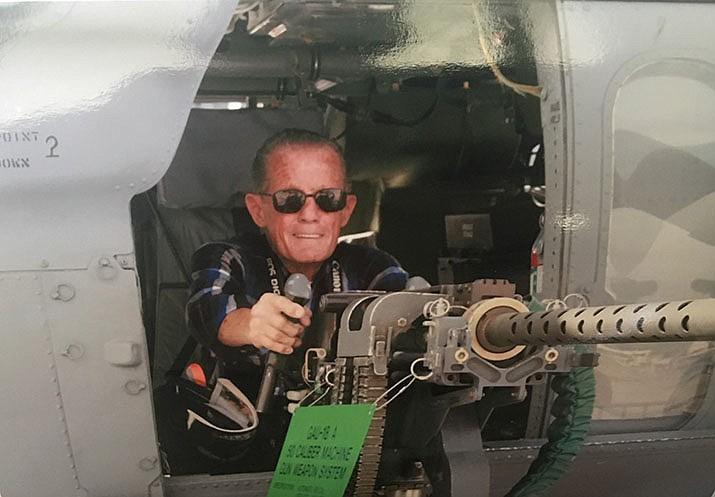 World War II U.S. Navy veteran Danny Nall, 90, will be taking the Honor Flight to Washington D.C. (Courtesy photo)