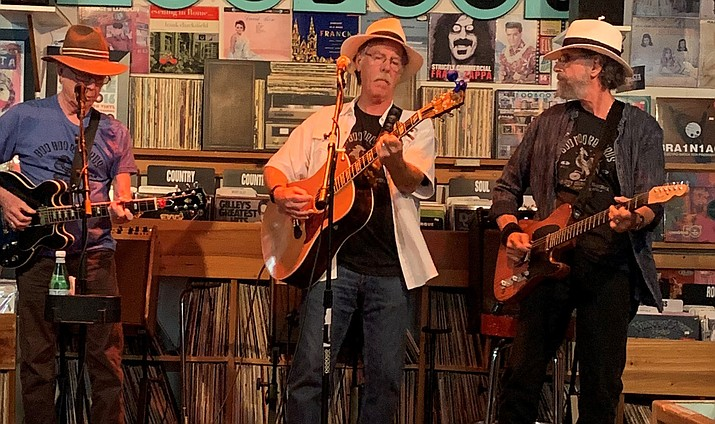 Dry River Band pays homage to toe-tapping ballads, along with Americana, country and folk musicians old and new at Sharlot Hall Museum during the annual folk music festival. (Courtesy)