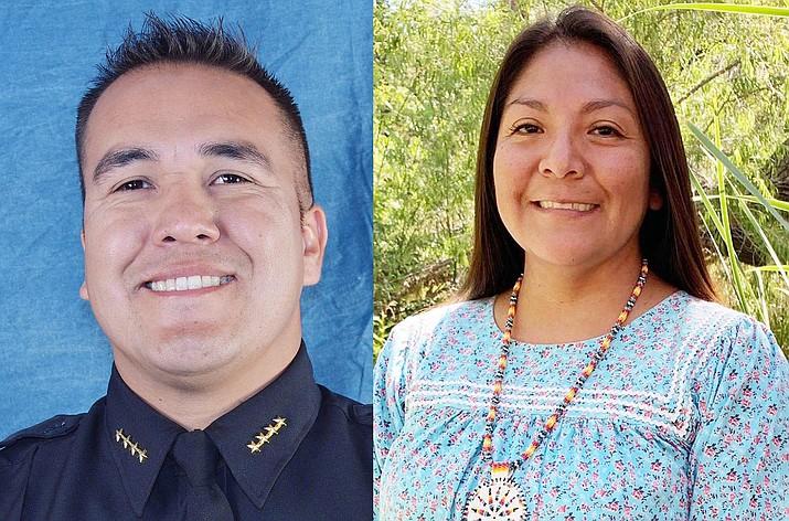 Jon Huey, Tanya Lewis. Photos courtesy Yavapai-Apache Nation