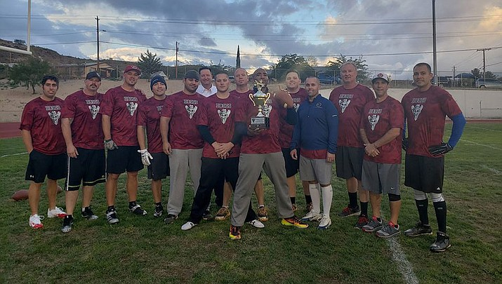 The Kingman Rebels will host the Shields and Hoses flag football game at 6 p.m. Saturday, Oct. 5 at Lee Williams High School, 400 Grandview Ave.  (Photo courtesy of the Kingman Rebels)