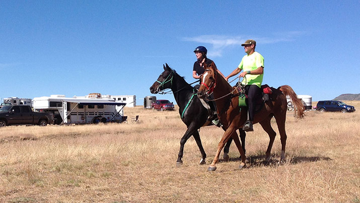Participate in the Man Against Horse Race, Oct. 5