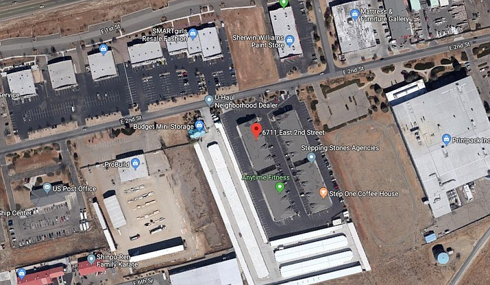 """Prescott Valley Police officers responded to a report of threats at PACE Academy School at 8:45 a.m. Oct. 1. Upon arrival, officers made contact with the juvenile student, who was in the principal's office because he made threats to """"shoot up the school and burn it down,"""" according to a release. (Google Maps screenshot)"""