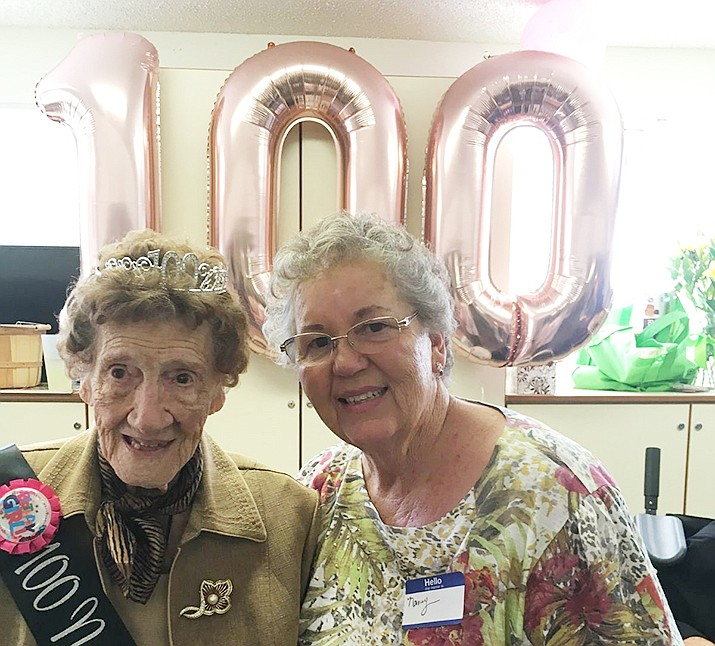 Lorene Carothers recently celebrated her 100th birthday. (Courtesy)