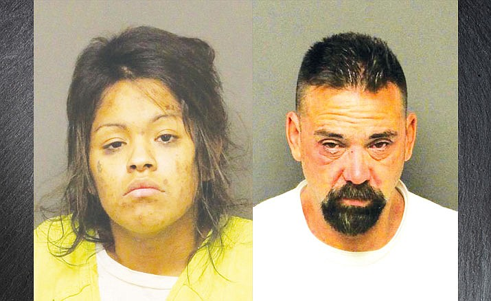 Amber Rodriguez Copsey, left, and David Joe Concepcion. (KPD photos)