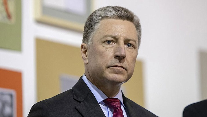 McCain Institute Executive Director Kurt Volker speaks at an event in Ukraine in February. Volker was U.S. special envoy to Ukraine until last month, when he resigned after a whistleblower raised concerns about the White House's dealings with that country. (Courtesy photo by U.S. Embassy, Ukraine)