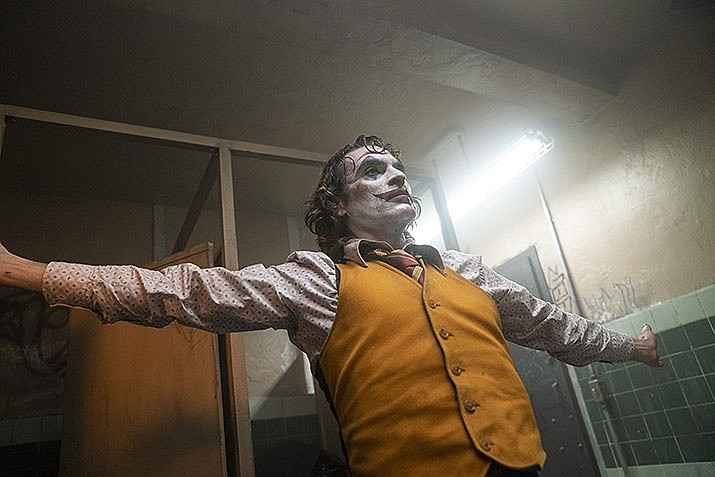 "Joaquin Phoenix appears as the Joker in ""Joker. "" (IMDB photo)."