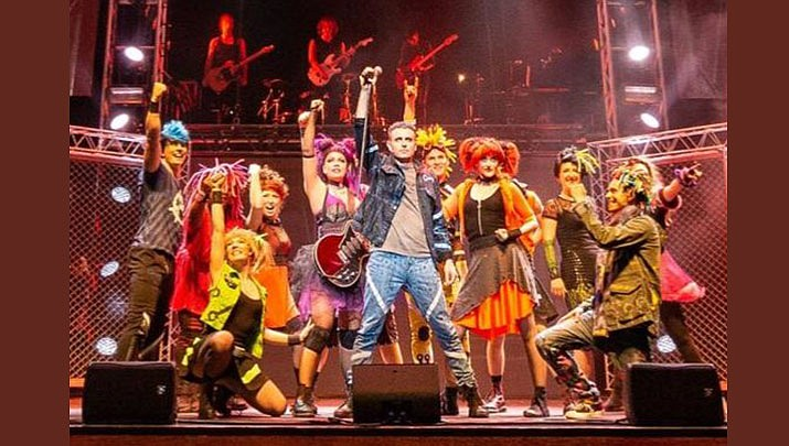 "The musical ""We Will Rock"" You will be performing at Findlay Toyota Center, 3201 North Main Street in Prescott Valley at 7 p.m. on Monday, Oct. 14. (Queen and Ben Elton)"