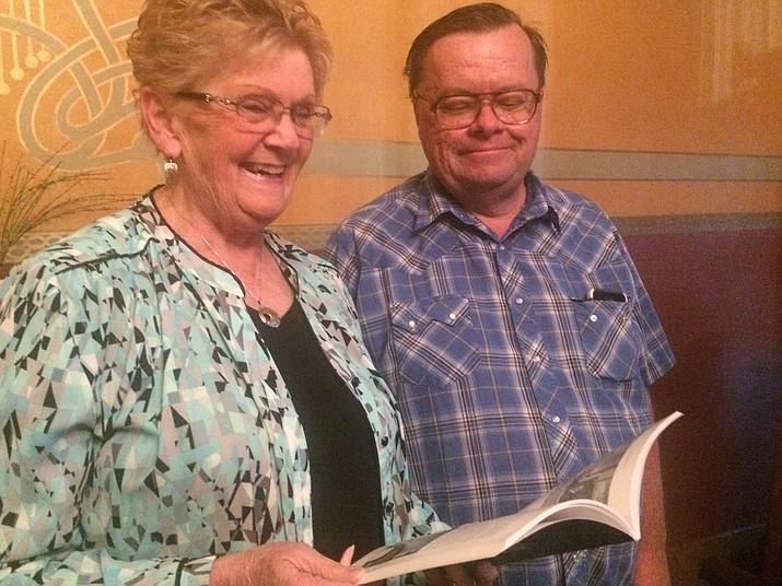 Darlene Wilson and Parker Anderson, authors of Haunted Prescott. (Jason Wheeler/Courier)