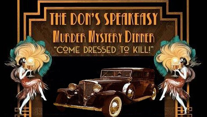 The Don's Speakeasy Murder Mystery Dinner is taking place at the Prescott Resort & Conference Center in Prescott on Saturday, Oct. 19. (The West Yavapai Guidance Clinic Foundation)