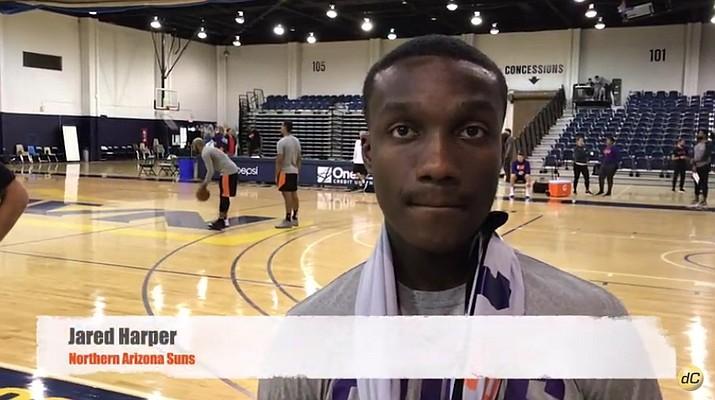 Jared Harper, Phoenix Suns. (Brian M. Bergner Jr./Courier)