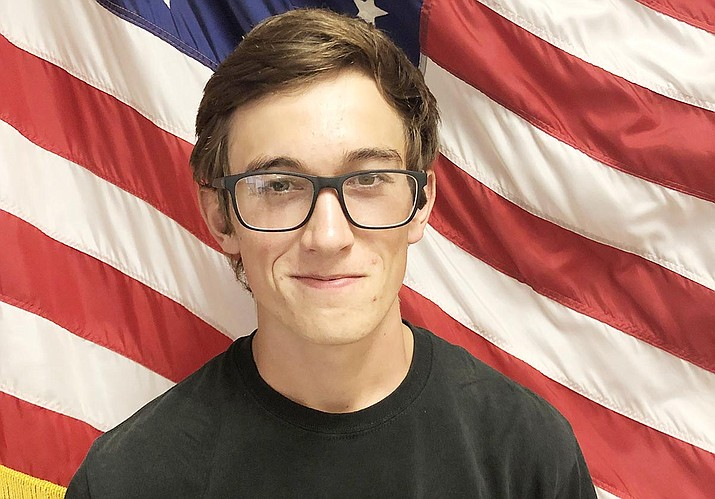Camp Verde High School has announced that senior Benjamin Perez is the school's September Kiwanis Student of the Month. Photo courtesy of Camp Verde High School