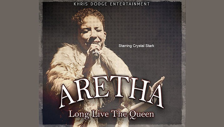"""""""Aretha: Long Live the Queen"""" will be at the Elks Theatre Performing Arts Center, 117 E. Gurley St. in Prescott at 7 p.m. on Saturday, Oct. 12. (Elks Theatre Performing Arts Center)"""