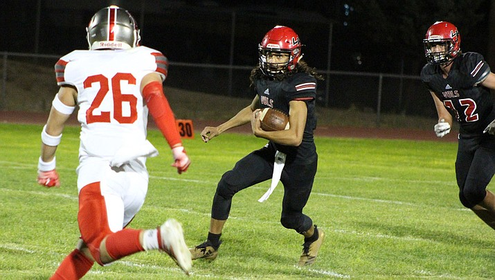 Devean Santos and the Vols are back in action at 7 p.m. Friday against region foe Flagstaff. Lee Williams is coming off a 42-27 win over Mingus two weeks ago. (Daily Miner file photo)
