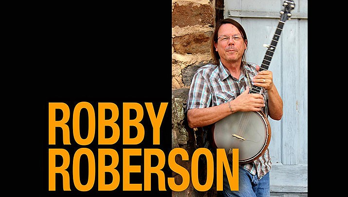 This month's Coffee House Concert features Robby Roberson at the Prescott Public Library, at 2 p.m. on Sunday, Oct. 13. Come enjoy a free cup of coffee and some live music. (Prescott Public Library)