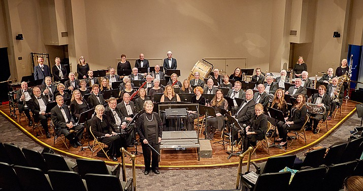 The Central Arizona Concert Band opens its fall season Sunday, Oct. 13, 2019, at the Davis Learning Center on the campus of Embry-Riddle Aeronautical University, 3700 Willow Creek Road. (Joe Cotten/Courtesy)