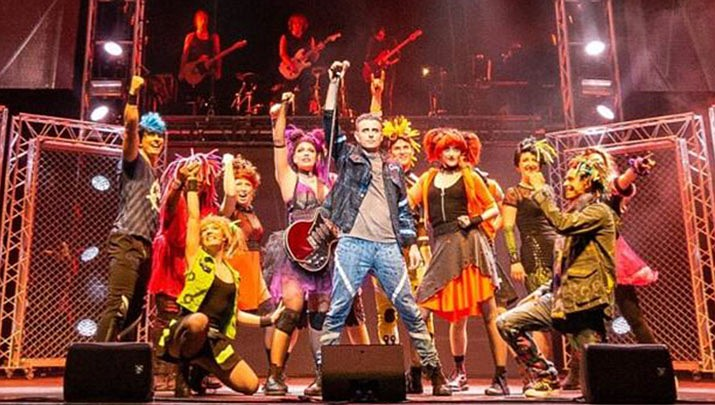 The musical We Will Rock You will be performing at Findlay Toyota Center, 3201 North Main Street in Prescott Valley at 7 p.m. on Monday, Oct. 14. (Findlay Toyota Center)