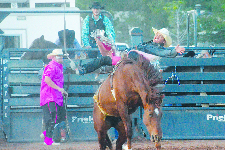 The Camp Verde Arena Association plans to have the equestrian center off SR 260 behind the Sports Complex ready for a January rodeo. VVN file photo