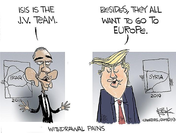 Editorial Cartoon | Oct. 14, 2019