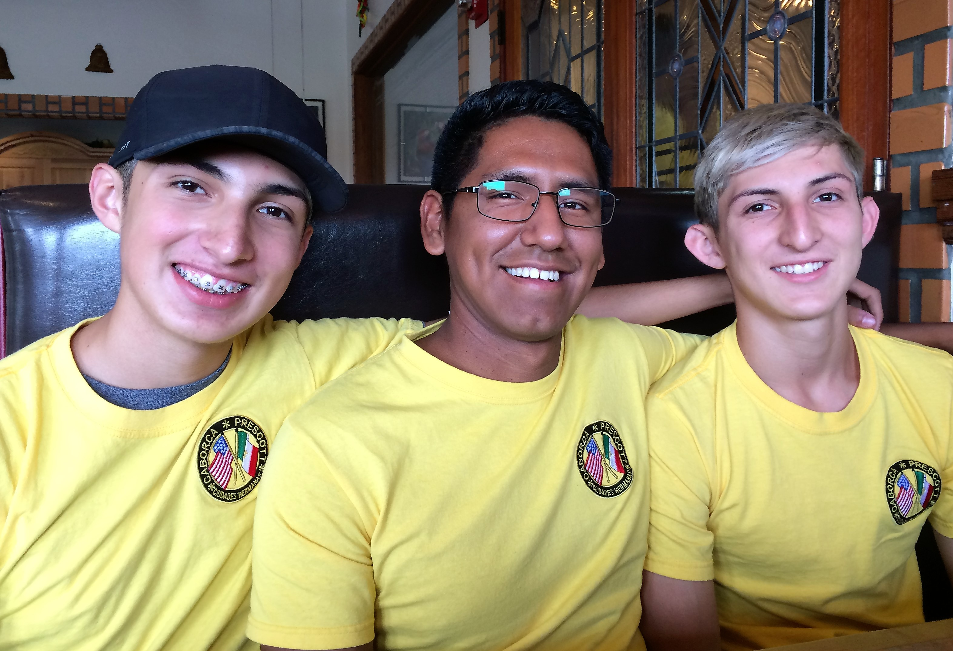 Teens from Mexico find Prescott a good place to practice English