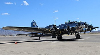 B-17 bomber lands in town for AirFest photo