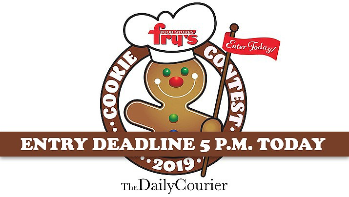 Cookie bakers can submit their recipes to The Daily Courier no later than 5 p.m. Tuesday, Oct. 15, 2019. Recipes can be submitted online using the form at dcourier.com/cookie or emailed to cookierecipe@prescottaz.com.
