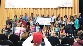 Bearizona pledges $90,000 to new WEMS after- school program photo