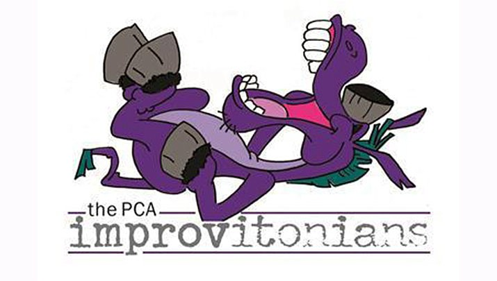 The Improvitonians: PCA's improvisation troupe, performs once a month at the Prescott Center for the Arts from 8:30 to 10 p.m. The next performance will be held on Saturday, Oct. 19. (Prescott Center for the Arts)