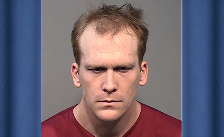 Tanner Farr, 27, was arrested on Oct. 7 for allegedly operating a steroid laboratory at his home in Prescott. (YCSO/Courtesy)
