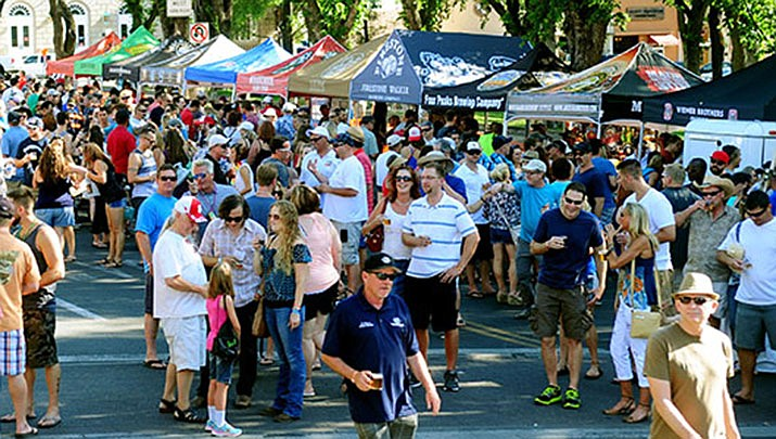 Everybody's Hometown Festival will take place on East Goodwin, South Cortez and South Montezuma streets in Prescott on Saturday, Oct. 19. Each street will feature a different theme ranging from local foods, local breweries, local bands and family fun. (Courtesy, file)