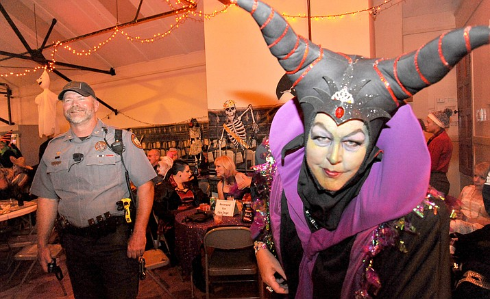 The 45th annual Jerome Fire Dept. Auxiliary Halloween Dance is Saturday, Oct. 26, at Spook Hall. The doors open at 8 p.m. and the Naughty Nits will play until 1 a.m. VVN/Vyto Starinskas