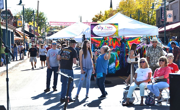 The 11th annual Walkin' on Main event is set for Saturday, Nov. 9, 11 a.m. to 5 p.m. in Old Town Cottonwood. Jak Teel, recreation coordinator for Cottonwood, said the city is marketing the event as having something for everyone in a family. VVN/Vyto Starinskas