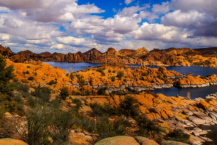 Prescott's Granite Dells area encompasses a vast patchwork of public and private lands. Over the years, the City of Prescott has bought and preserved the Dells-area Watson and Willow lakes, as well as about 424 acres of Dells open space. (Courier stock photo)