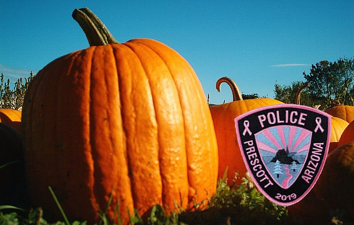 "The Prescott Police Department will host its first annual Pink Pumpkin ""Patch"" event at Goodwin Street and Montezuma Street from 1 to 5 p.m. on Sunday, Oct. 20. (Monica Brabant/WNI Photo Illustration)"