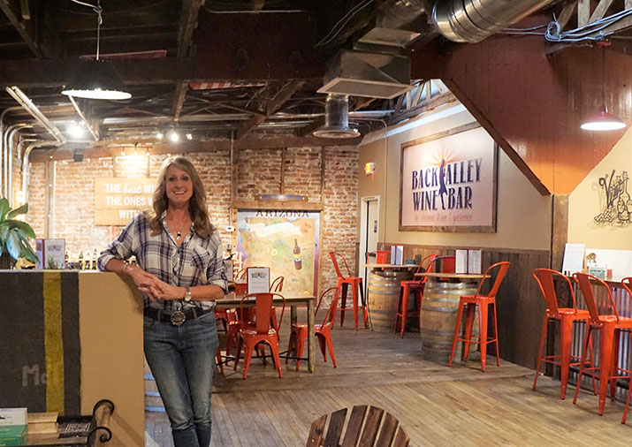 Owner of Back Alley Wine Bar works on revitalization of Whiskey Row alley
