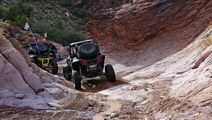 OHV riders enjoy the wilds of the Arizona Peace Trail, which runs about 700 miles through three counties, including Mohave. (Courtesy photo)