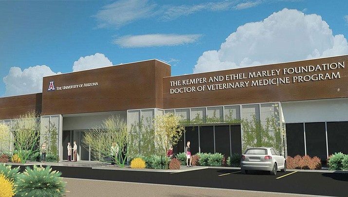 The University of Arizona has received the green light from the American Veterinary Medical Association to open its long-awaited College of Veterinary Medicine in Oro Valley. (Rendering Courtesy of University of Arizona)