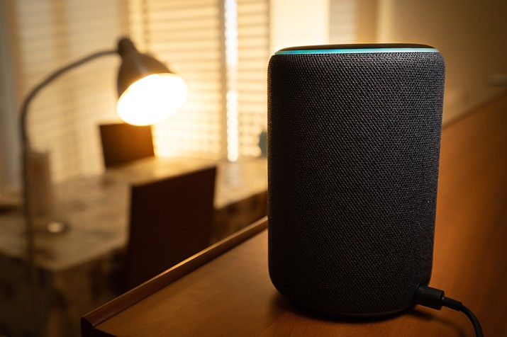 Alexa device in the house. (Courier stock photo)