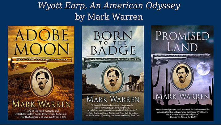 "After 63 years of research, author and Western historian Mark Warren reveals the true nature of Wyatt Earp and explains why he has deservedly entered the pantheon of American heroes. Come join us for a slide presentation of ""all things Earp!"" at the Prescott Public Library on Thursday, Oct. 24. (Prescott Public Library)"