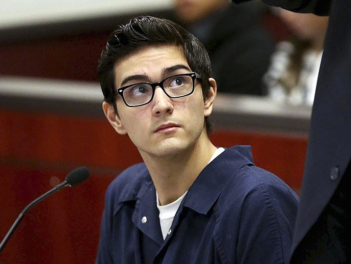 A Flagstaff judge has given lawyers for former Northern Arizona University student Steven Jones, charged in a fatal 2015 campus shooting, more time to collect their witnesses and build their case.(Associated Press file photo)