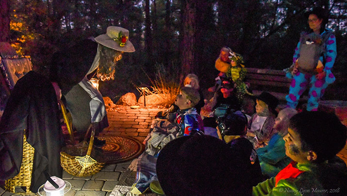 Enjoy a nature themed night at Halloween Happening, Oct. 25