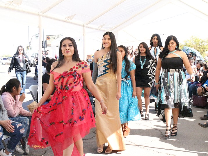 Final Sacred Native Fashion Show Held In Tuba City Navajo Hopi Observer Navajo Hopi Nations Az